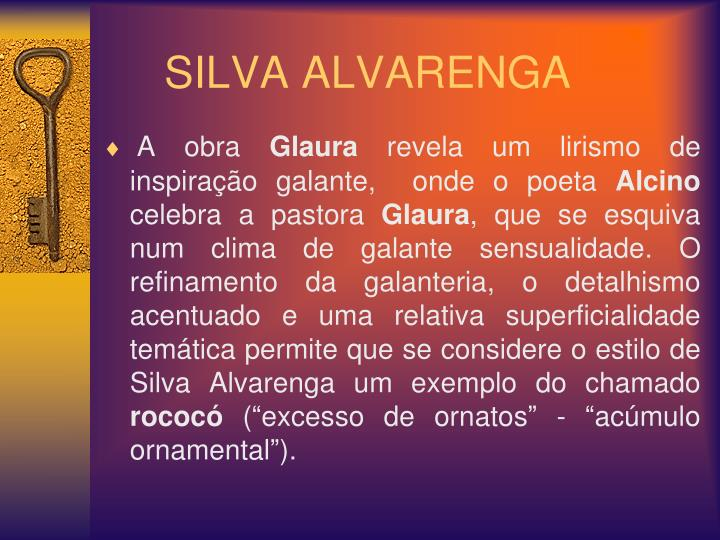 SILVA ALVARENGA