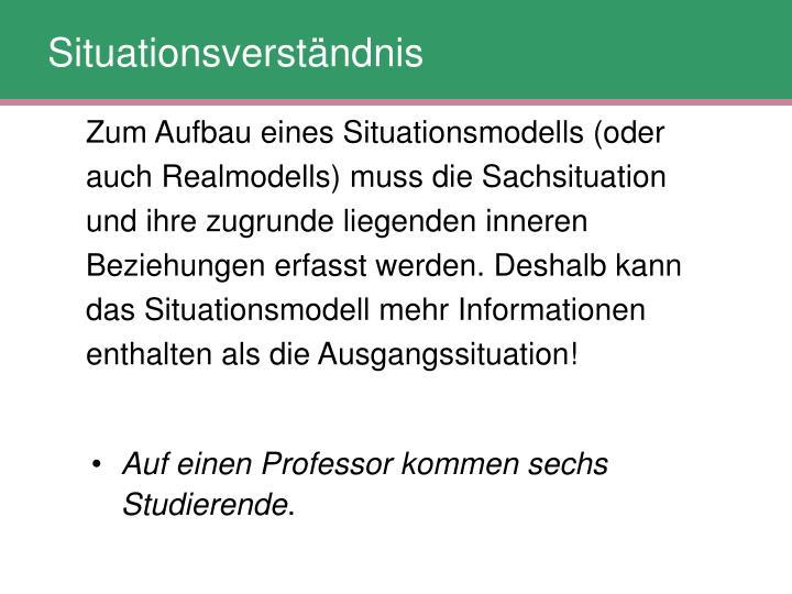 Situationsverständnis
