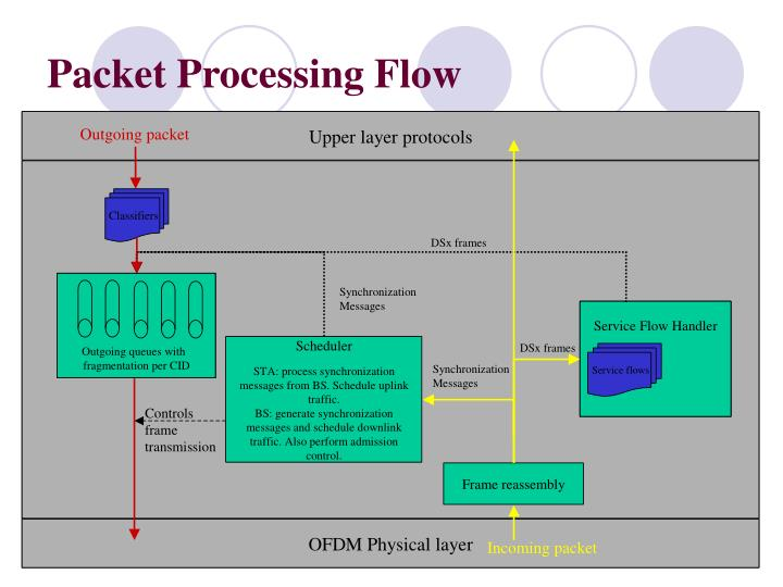 Packet Processing Flow