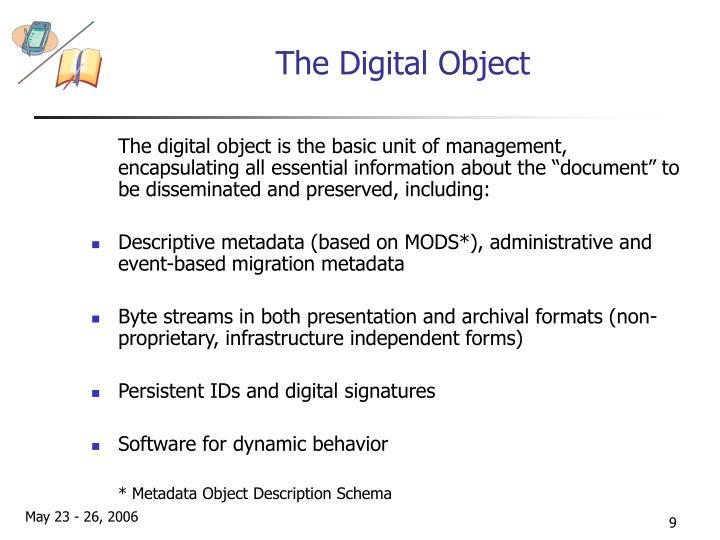 The Digital Object