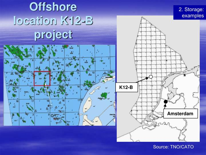 Offshore location K12-B project
