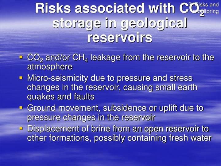 3. Risks and monitoring