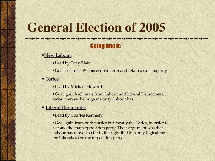 General Election of 2005