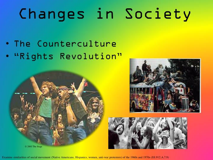 social changes in america in the 1960s The '60s become a time of social revolution and help them deal with the social and racial difficulties of the 1960s be popular in america during the 1960s.