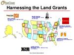 harnessing the land grants