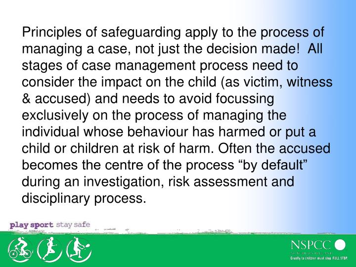 principles of safeguarding and protection 3 essay