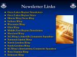 newsletter links