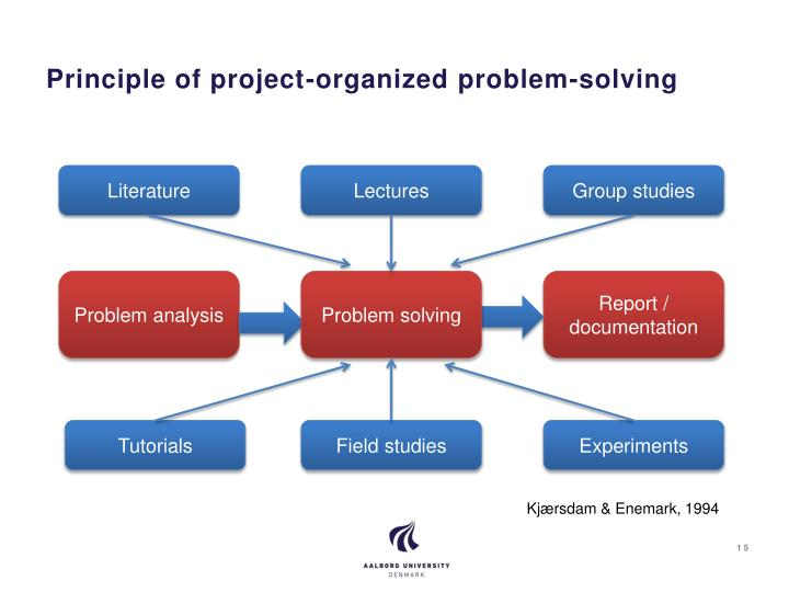Principle of project-organized problem-solving