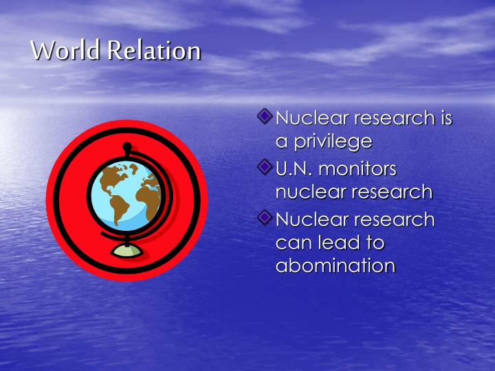 World Relation