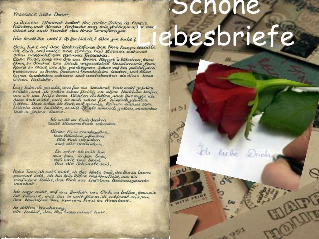 Weinen schöne liebesbriefe zum Schöne liebesbriefe
