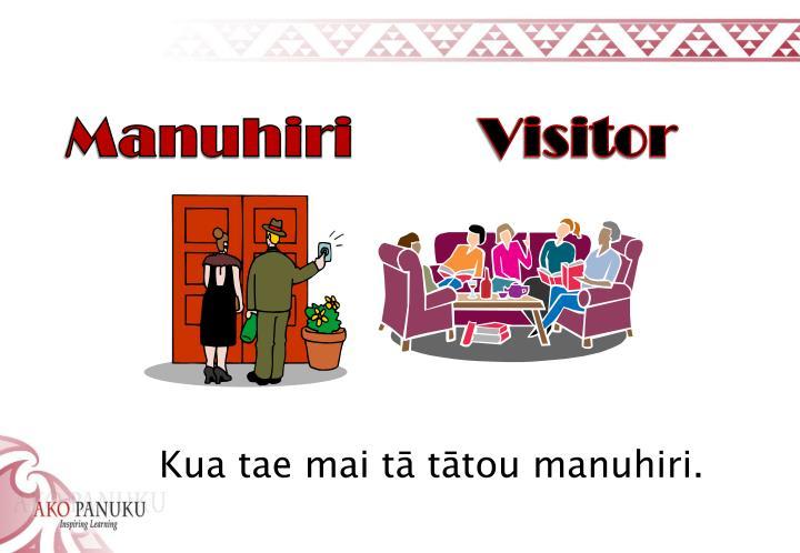 Manuhiri