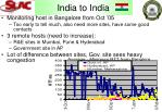 india to india