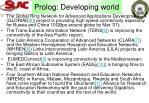 prolog developing world