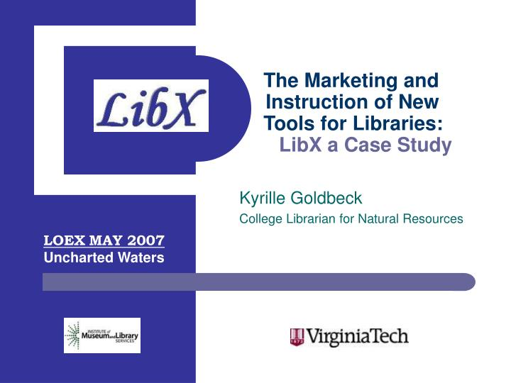kyrille goldbeck college librarian for natural resources n.