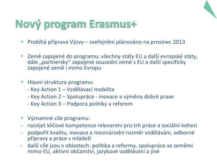 Nový program
