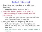 ranked retrieval