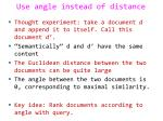 use angle instead of distance