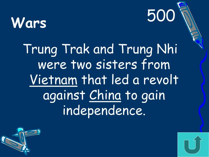 Trung Trak and Trung Nhi were two sisters from