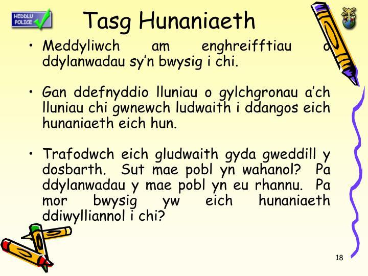 Tasg Hunaniaeth