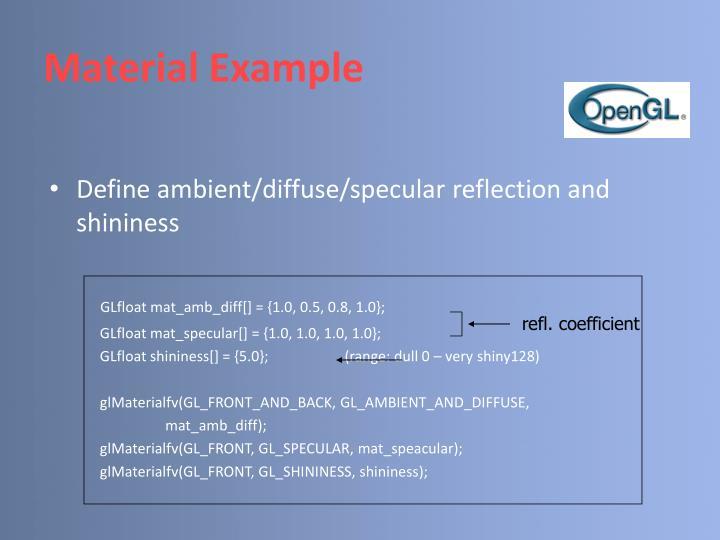 refl. coefficient