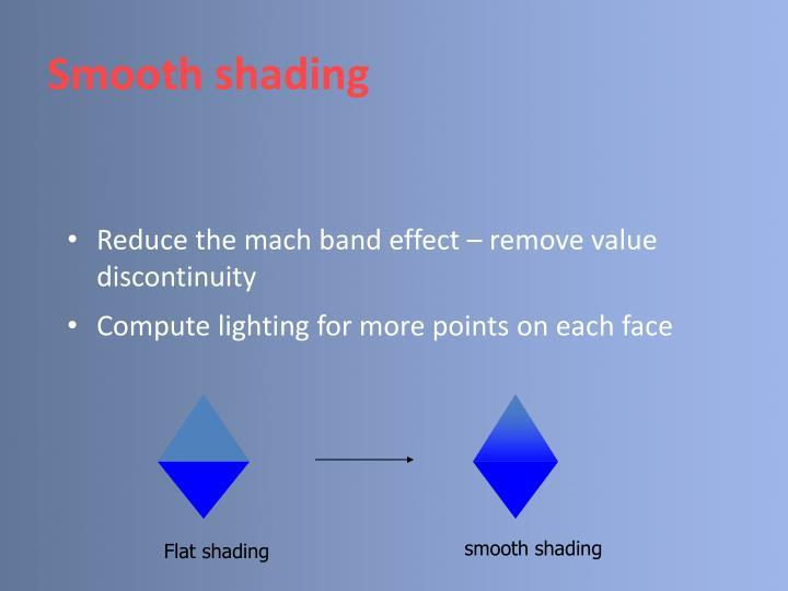 smooth shading