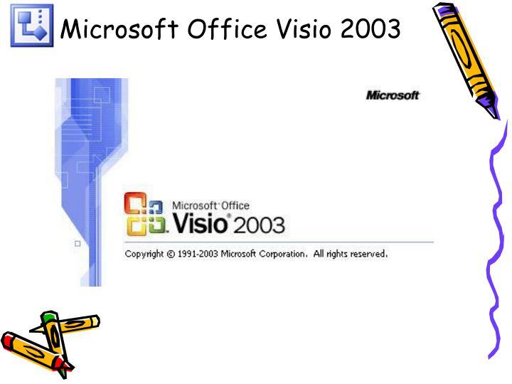 Microsoft Office Visio 2003