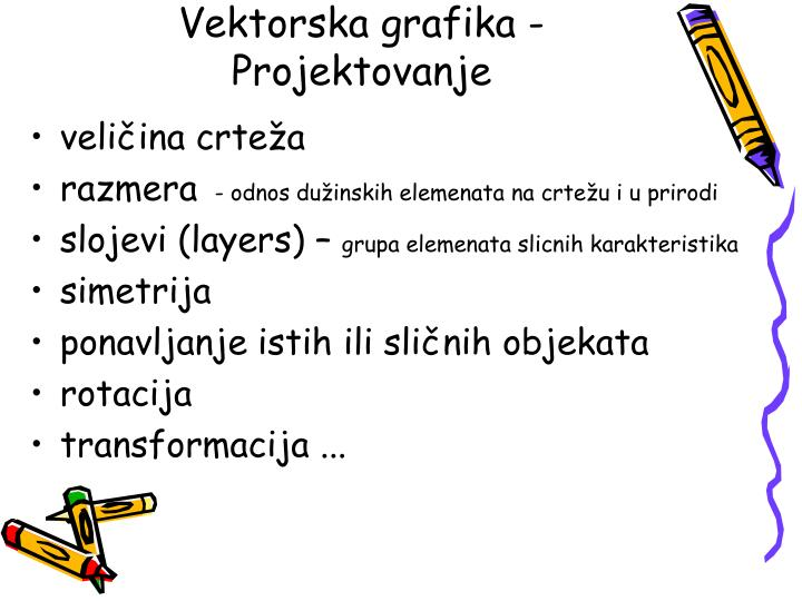 Vektorska grafika -