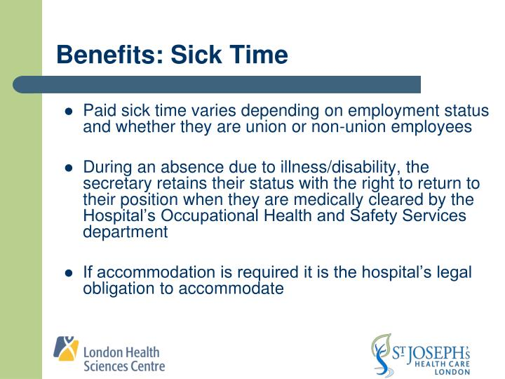 Benefits: Sick Time