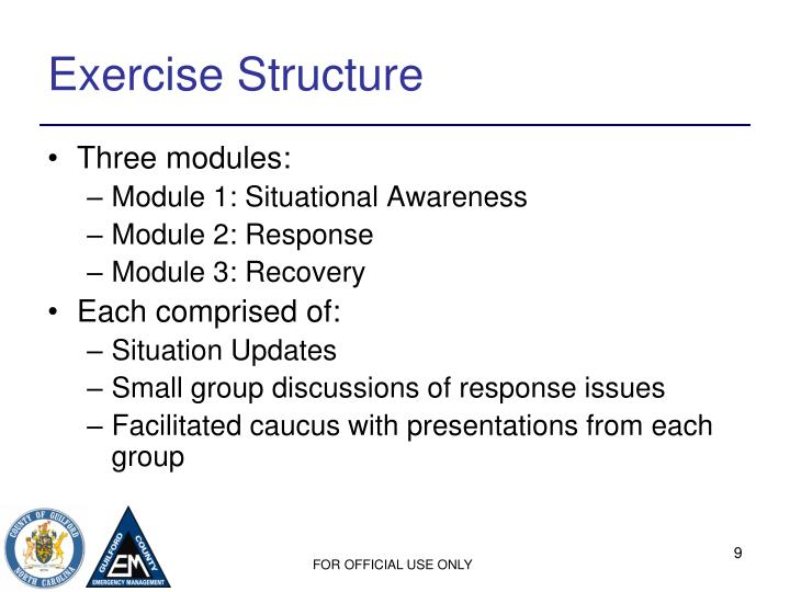 Exercise Structure