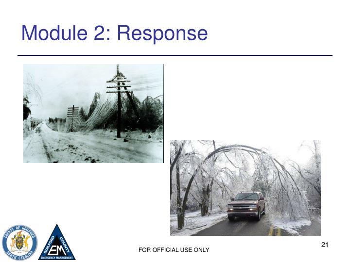 Module 2: Response
