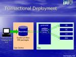 transactional deployment1