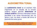 audiometr a tonal