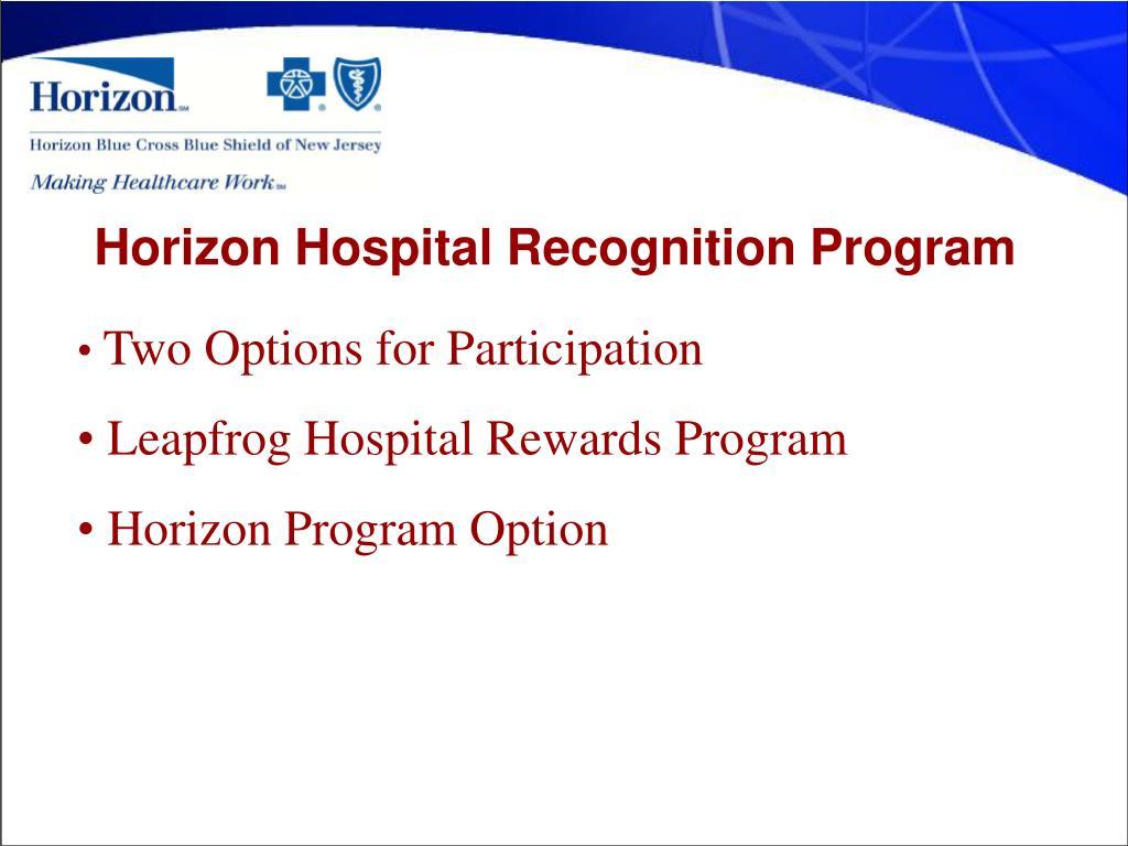 PPT - Bill Finck Former Director, Network Initiatives Horizon Blue