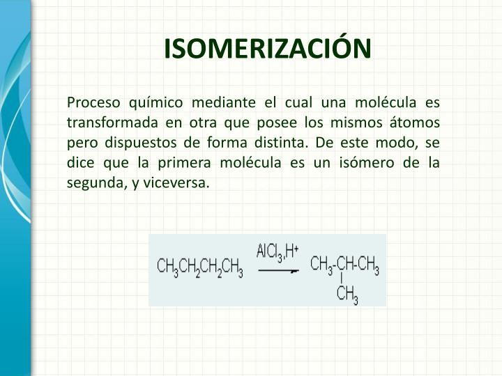 Isomerizaci n1