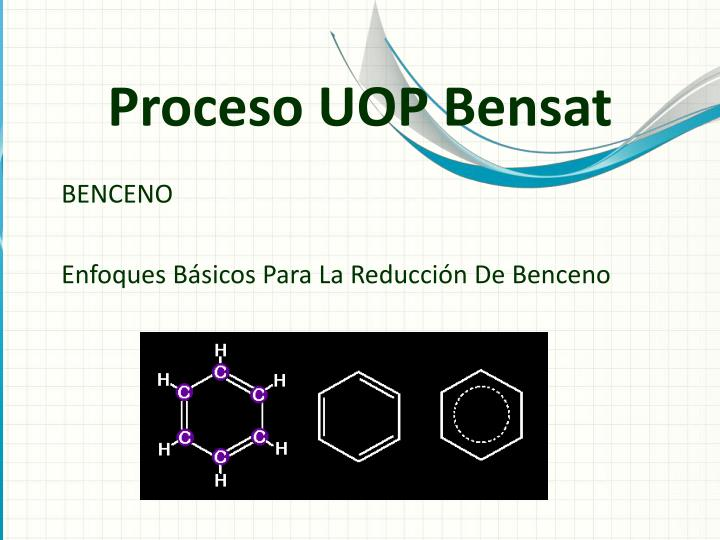 Proceso UOP Bensat
