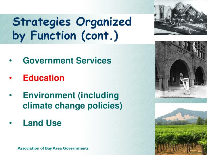 Strategies Organized by Function (cont.)
