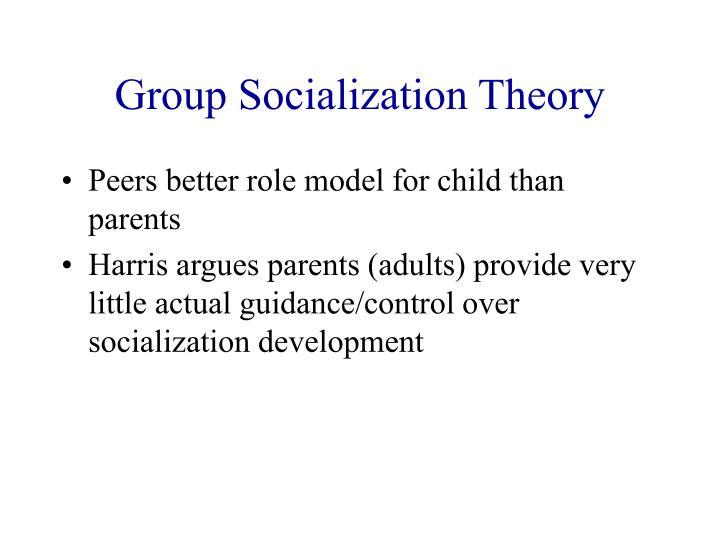 Group Socialization Theory