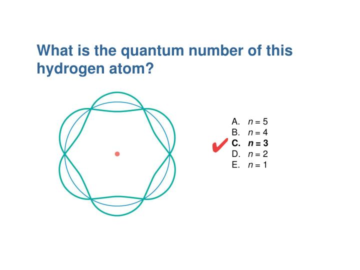 What is the quantum number of this