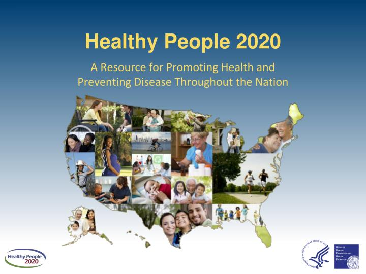 healthy people 2020 n.