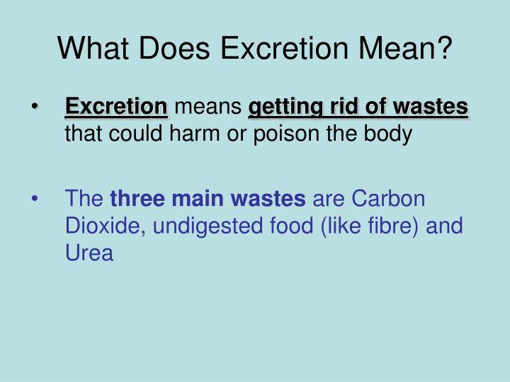 name some ways in which the body excretes waste Cells use both diffusion and osmosis to get rid of their wastes  cells need to  deal with all sorts of chemicals, some of which need to be removed  in water will  be carried away by the bloodstream and excreted out of the body in urine  of a  cell list of several things that can diffuse over a cell membrane examples  of.