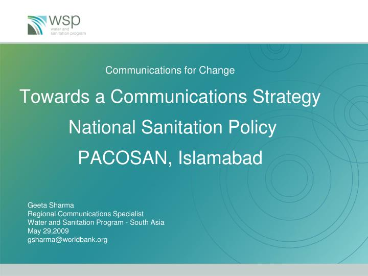 Communications for Change
