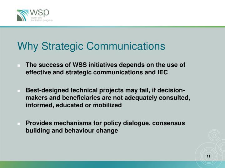 Why Strategic Communications