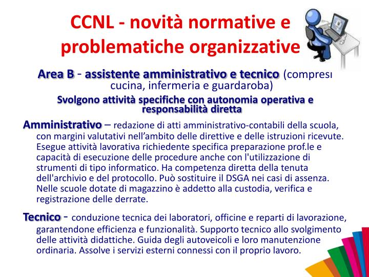 CCNL - novità normative e problematiche organizzative