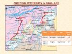 potential waterways in nagaland