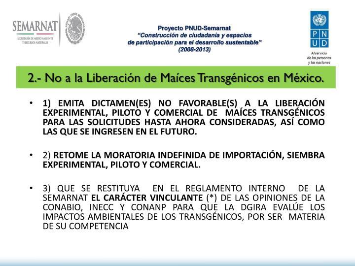 Proyecto PNUD-Semarnat
