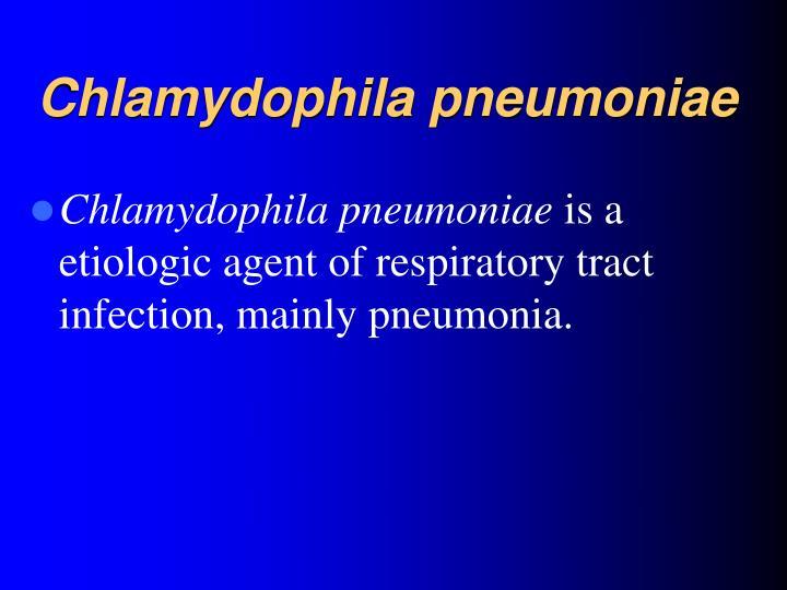 Chlamydophila
