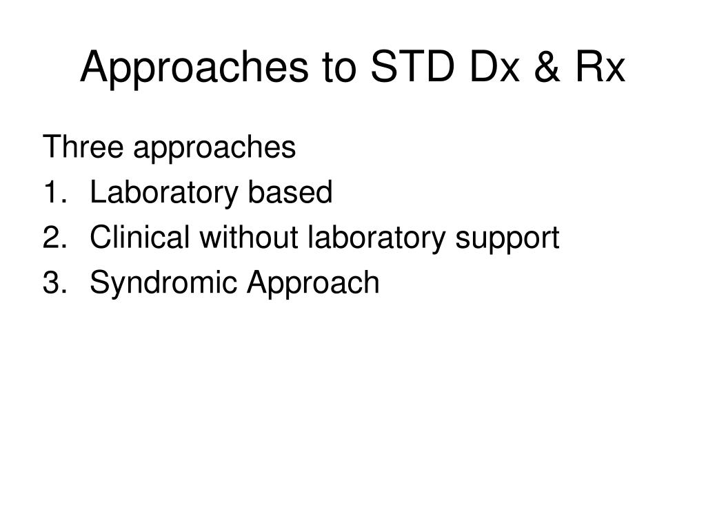 syndromic approach to sexually transmitted infections during pregnancy in Rockford