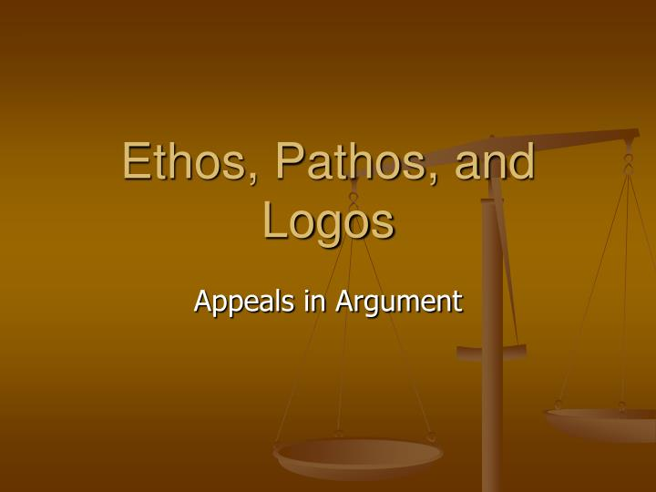 ethos pathos and logos