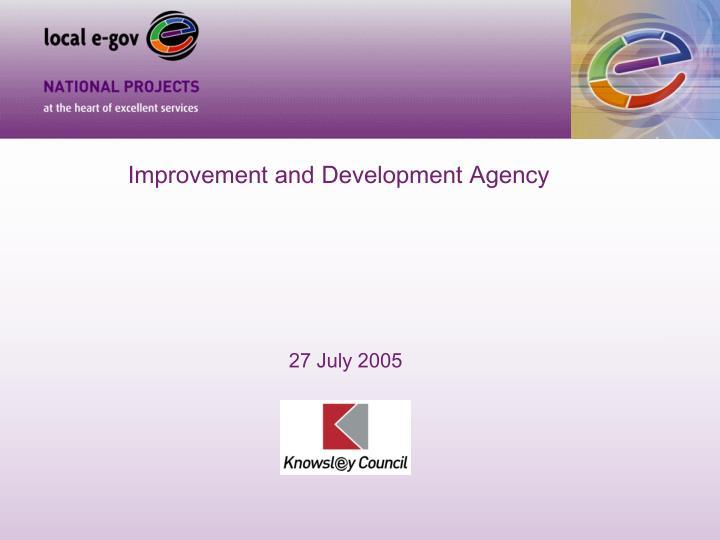 Improvement and Development Agency