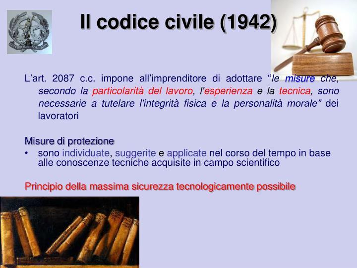 ll codice civile (1942)